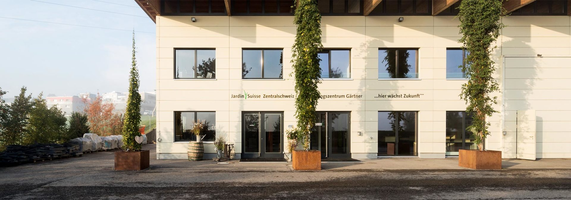 Bildungszentrum - JSZE - JardinSuisse Zentralschweiz - Gärtner aus Luzern, Ob- und Nidwalden, Schwyz, Uri und Zug